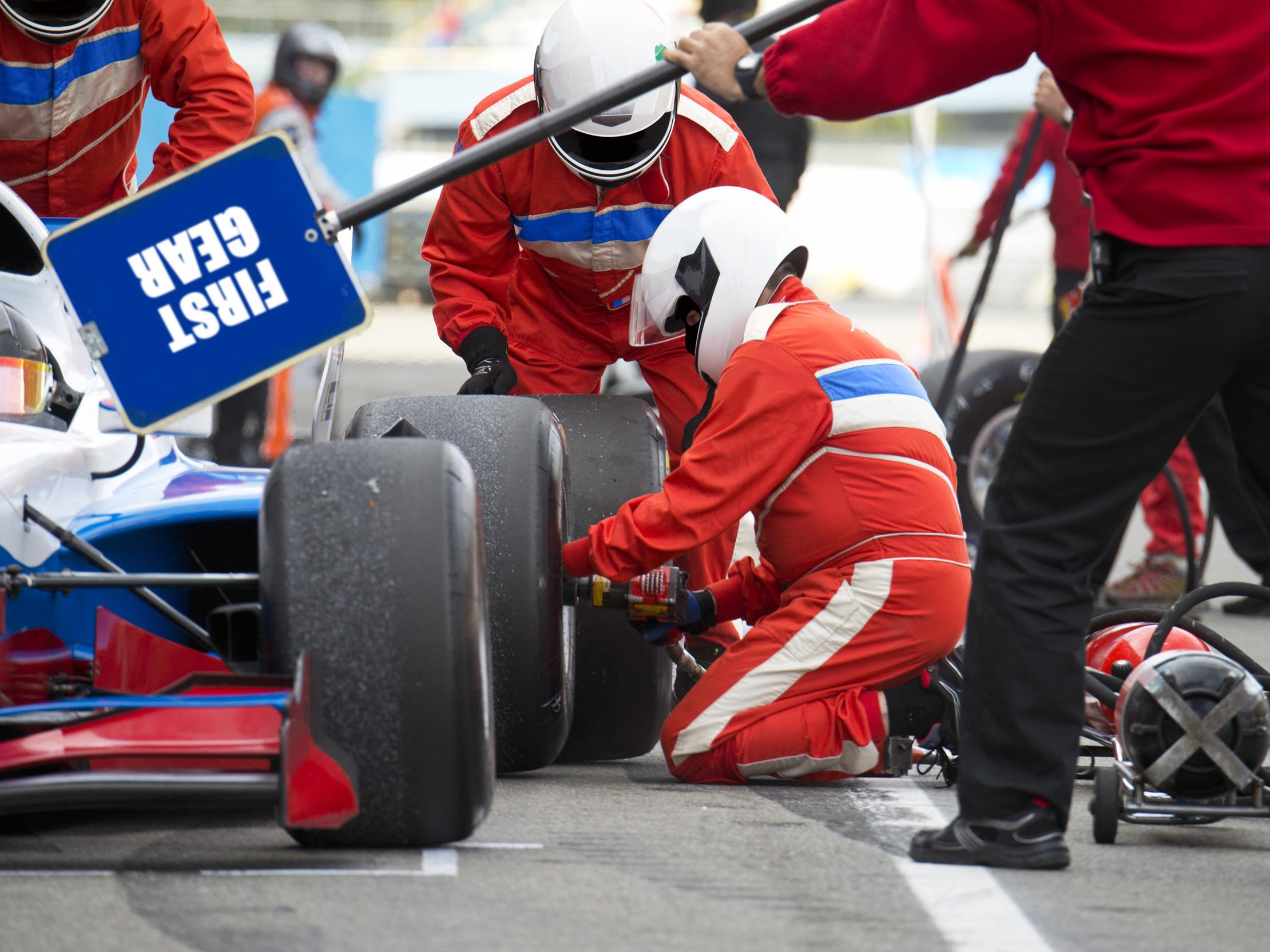 Tænk som en Formel 1-kører, når du skal skabe Lean i din virksomhed